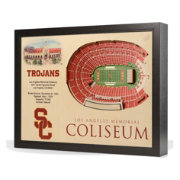 You the Fan USC Trojans 25-Layer StadiumViews 3D Wall Art