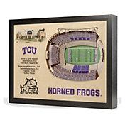 You the Fan TCU Horned Frogs 25-Layer StadiumViews 3D Wall Art