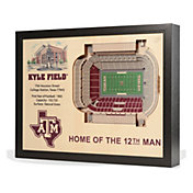 You the Fan Texas A&M Aggies 25-Layer StadiumViews 3D Wall Art