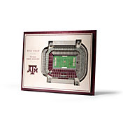 You the Fan Texas A&M Aggies 5-Layer StadiumViews 3D Wall Art