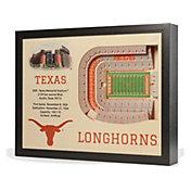 You the Fan Texas Longhorns 25-Layer StadiumViews 3D Wall Art