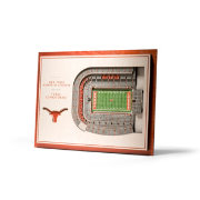 You the Fan Texas Longhorns 5-Layer StadiumViews 3D Wall Art