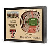 You the Fan Texas Tech Red Raiders 25-Layer StadiumViews 3D Wall Art