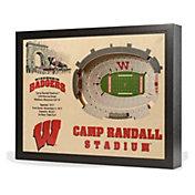 You the Fan Wisconsin Badgers 25-Layer StadiumViews 3D Wall Art