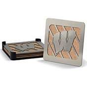 You the Fan Wisconsin Badgers Coaster Set
