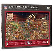 You the Fan San Francisco 49ers Find Joe Journeyman Puzzle