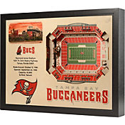 You the Fan Tampa Bay Buccaneers 25-Layer StadiumViews 3D Wall Art
