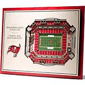 You the Fan Tampa Bay Buccaneers 5-Layer StadiumViews 3D Wall Art