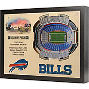 You the Fan Buffalo Bills 25-Layer StadiumViews 3D Wall Art