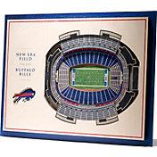 You the Fan Buffalo Bills 5-Layer StadiumViews 3D Wall Art