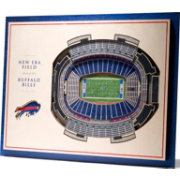 You the Fan Buffalo Bills 5-Layer StadiumViews 3D Wall Art