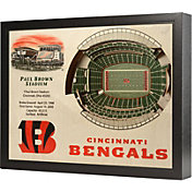 You the Fan Cincinnati Bengals 25-Layer StadiumViews 3D Wall Art