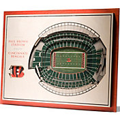 You the Fan Cincinnati Bengals 5-Layer StadiumViews 3D Wall Art