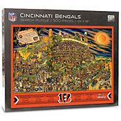 You the Fan Cincinnati Bengals Find Joe Journeyman Puzzle