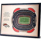 You the Fan Denver Broncos 5-Layer StadiumViews 3D Wall Art