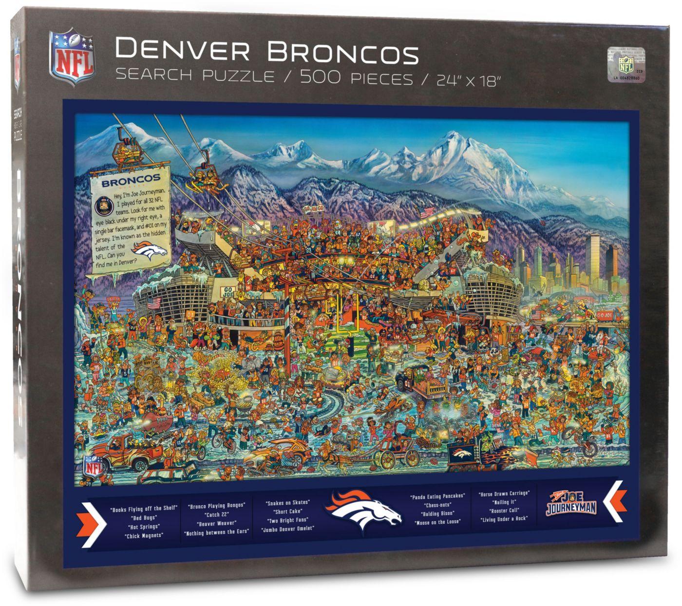 You the Fan Denver Broncos Find Joe Journeyman Puzzle