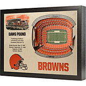 You the Fan Cleveland Browns 25-Layer StadiumViews 3D Wall Art