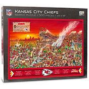 You the Fan Kansas City Chiefs Find Joe Journeyman Puzzle