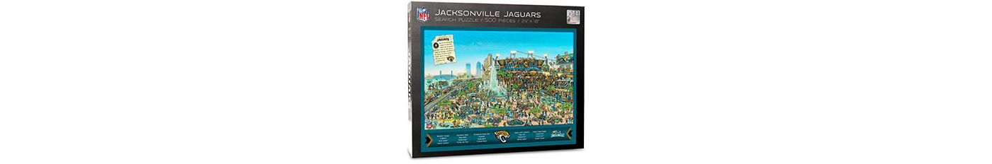 You the Fan Jacksonville Jaguars Find Joe Journeyman Puzzle