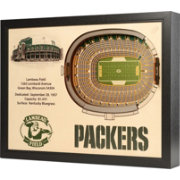 You the Fan Green Bay Packers 25-Layer StadiumViews 3D Wall Art