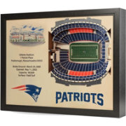 You the Fan New England Patriots 25-Layer StadiumViews 3D Wall Art