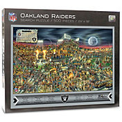 You the Fan Oakland Raiders Find Joe Journeyman Puzzle