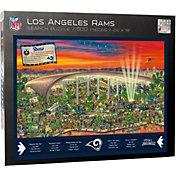 You the Fan Los Angeles Rams Find Joe Journeyman Puzzle