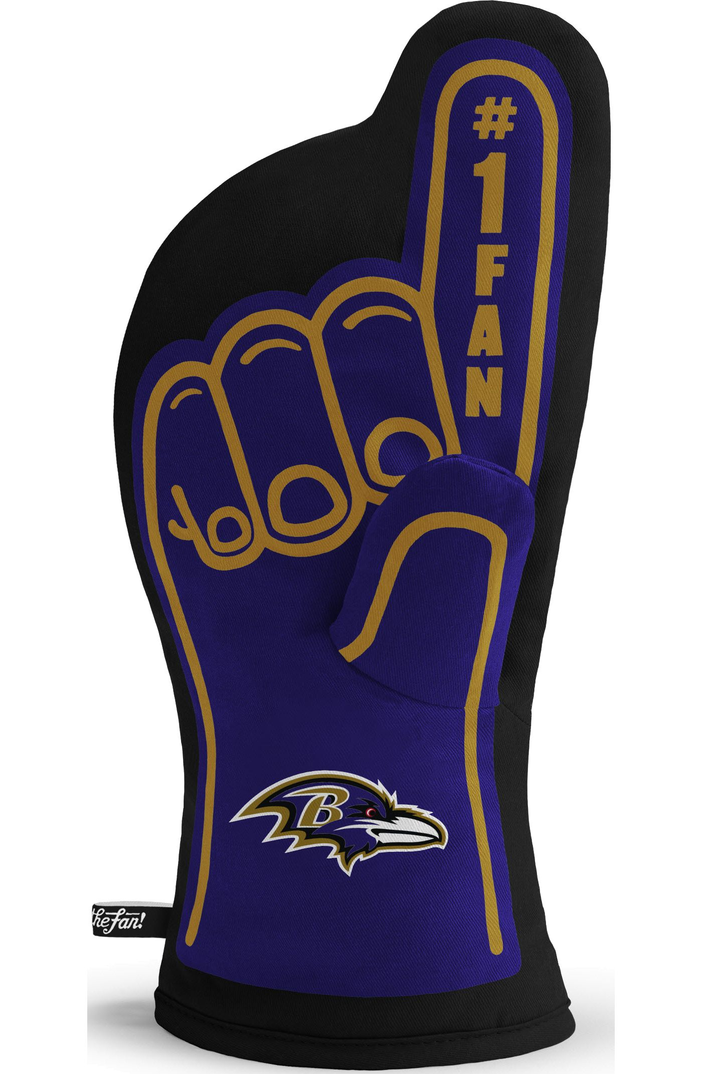 You The Fan Baltimore Ravens #1 Oven Mitt