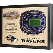 You the Fan Baltimore Ravens 25-Layer StadiumViews 3D Wall Art