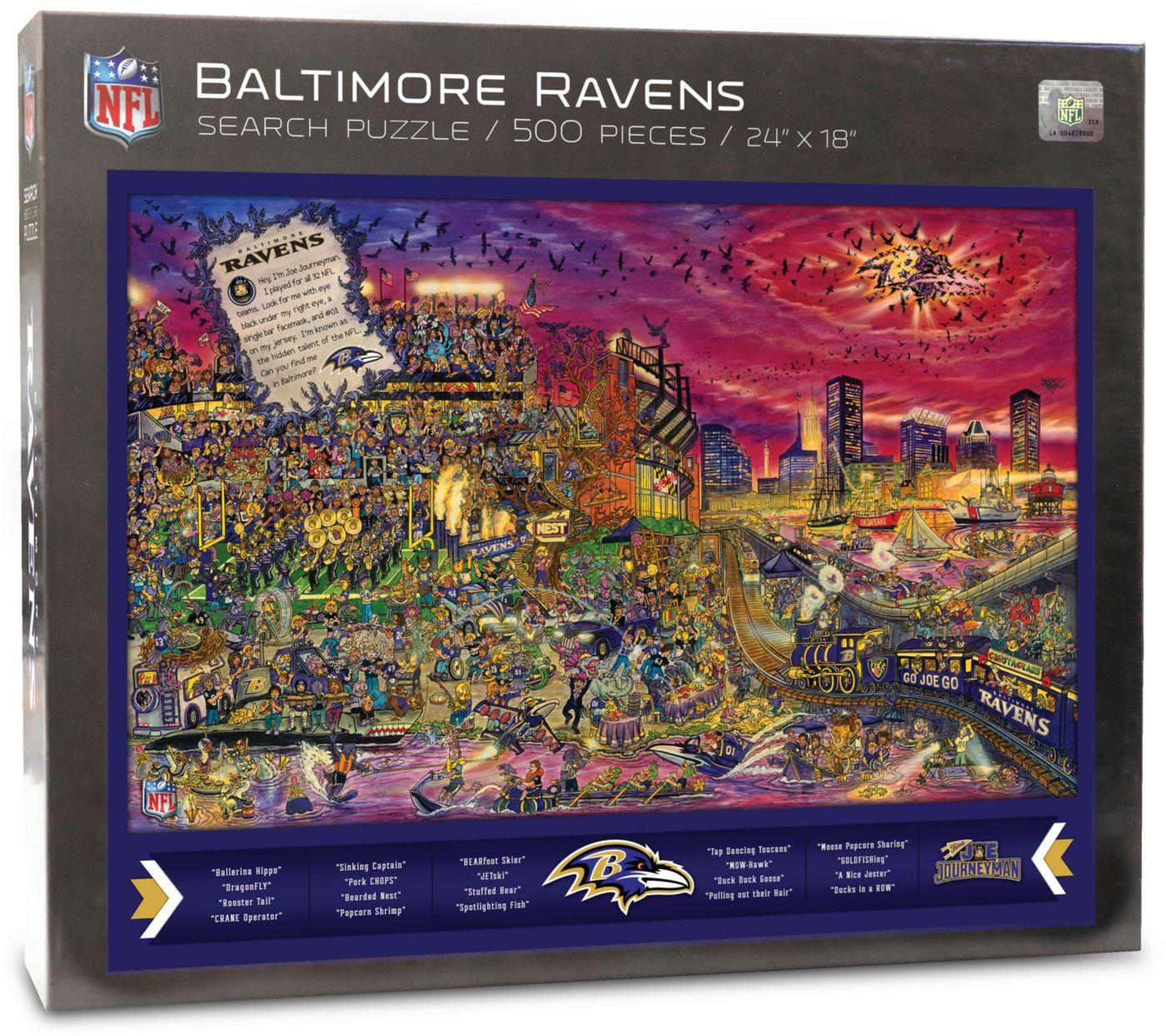 You the Fan Baltimore Ravens Find Joe Journeyman Puzzle