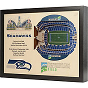 You the Fan Seattle Seahawks 25-Layer StadiumViews 3D Wall Art