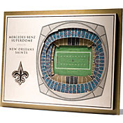 You the Fan New Orleans Saints 5-Layer StadiumViews 3D Wall Art