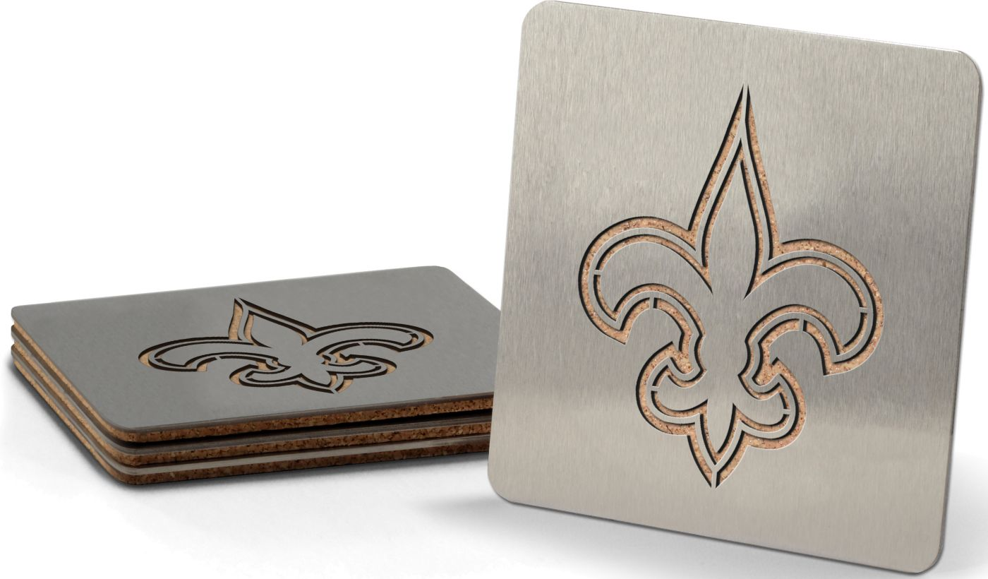 You the Fan New Orleans Saints Coaster Set