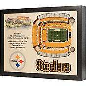 You the Fan Pittsburgh Steelers 25-Layer StadiumViews 3D Wall Art