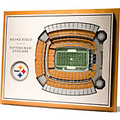 You the Fan Pittsburgh Steelers 5-Layer StadiumViews 3D Wall Art