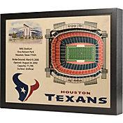 You the Fan Houston Texans 25-Layer StadiumViews 3D Wall Art