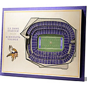 You the Fan Minnesota Vikings 5-Layer StadiumViews 3D Wall Art