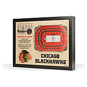 You the Fan Chicago Blackhawks 25-Layer StadiumViews 3D Wall Art