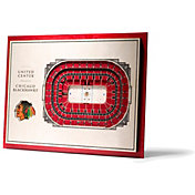 You the Fan Chicago Blackhawks 5-Layer StadiumViews 3D Wall Art