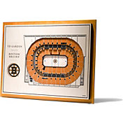 You the Fan Boston Bruins 5-Layer StadiumViews 3D Wall Art