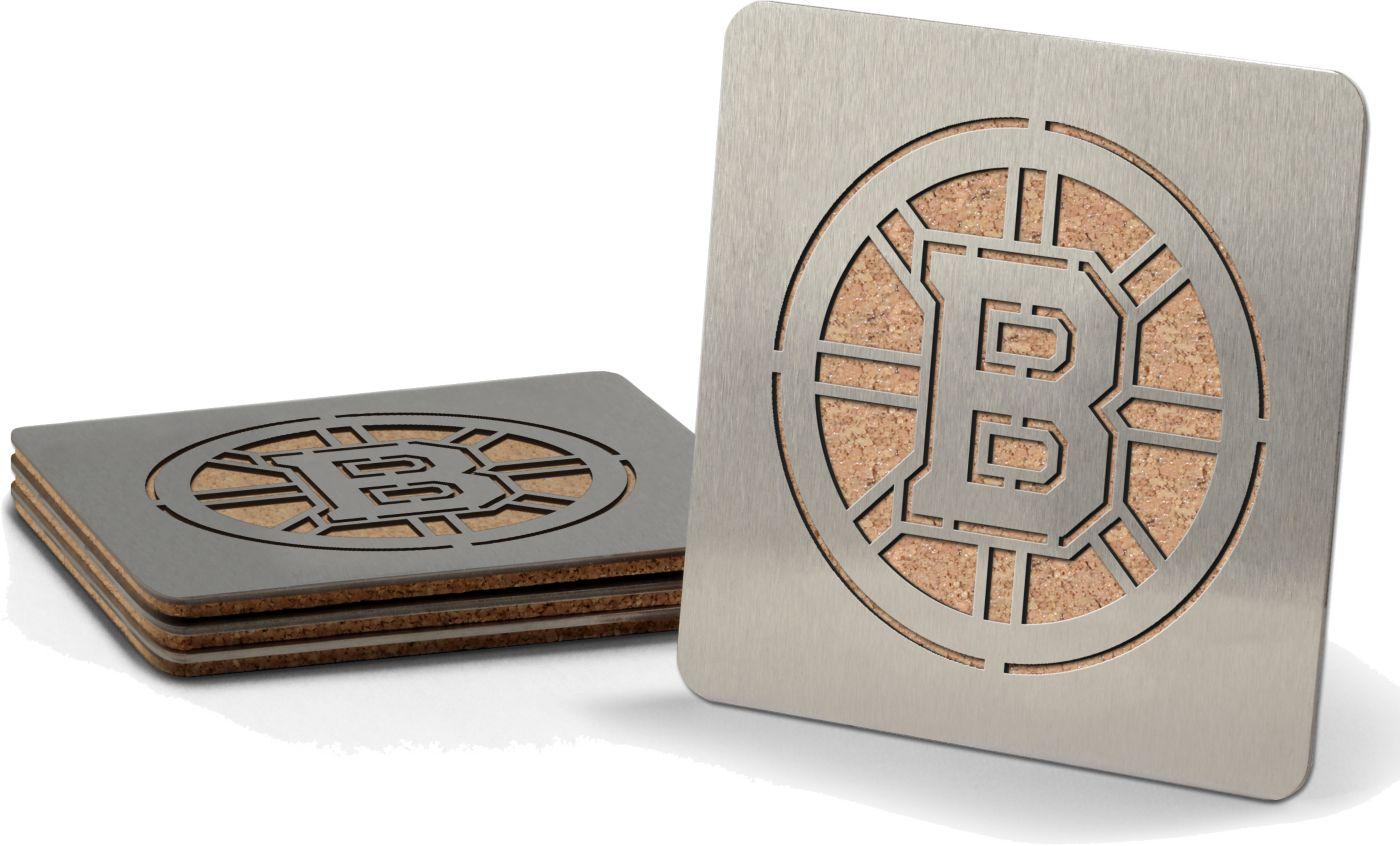 You the Fan Boston Bruins Coaster Set