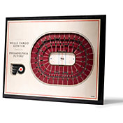 You the Fan Philadelphia Flyers 5-Layer StadiumViews 3D Wall Art