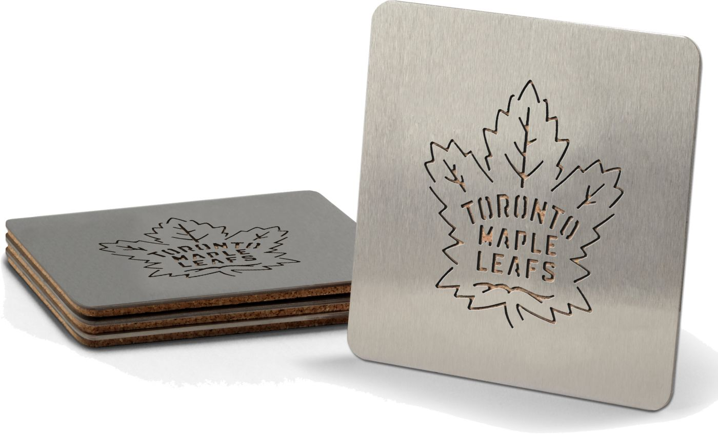 You the Fan Toronto Maple Leafs Coaster Set