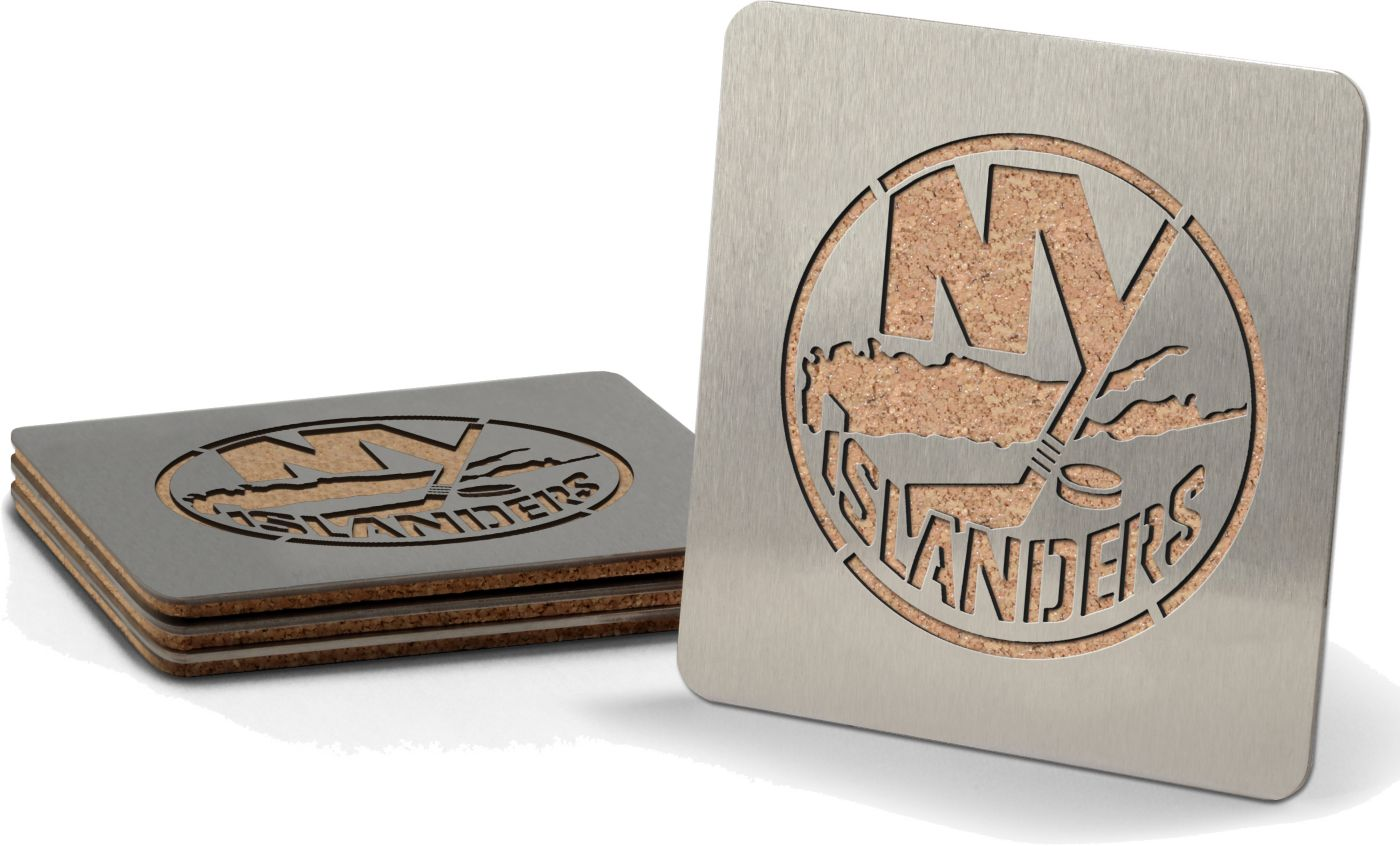 You the Fan New York Islanders Coaster Set