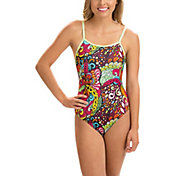 Dolfin Women's Uglies Double Strap V-Back Print Swimsuit