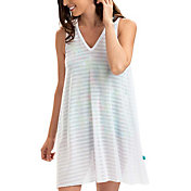 Dolfin Women's Sleeveless V-Neck Cover-Up