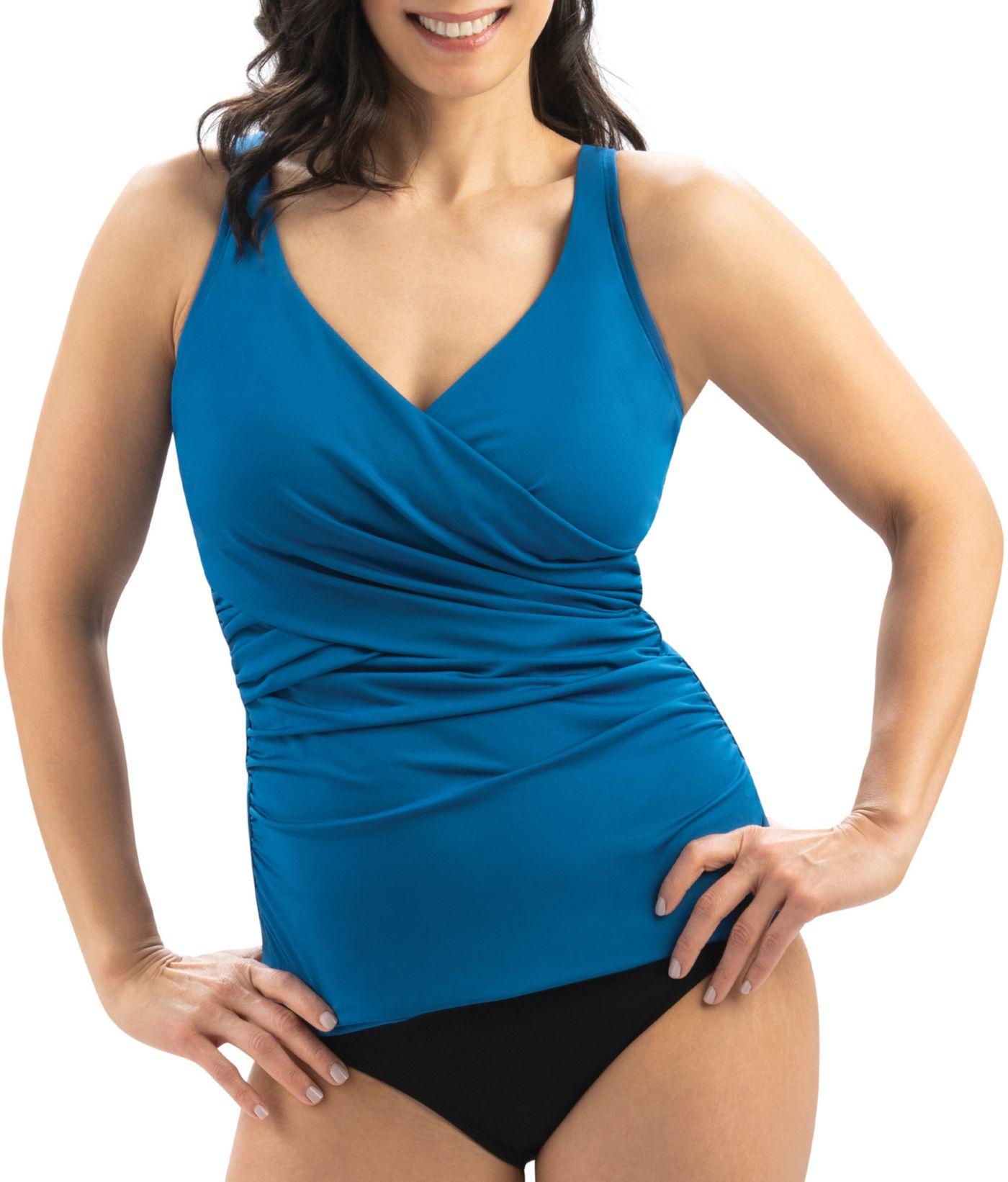 Dolfin Women's Wrap V-Neck Tankini