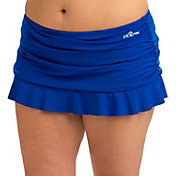 Dolfin Women's Aquashape Ruched Swim Skirt