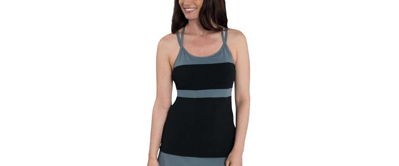 Dolfin Women's Aquashape Reliance T-Strap Tankini Top