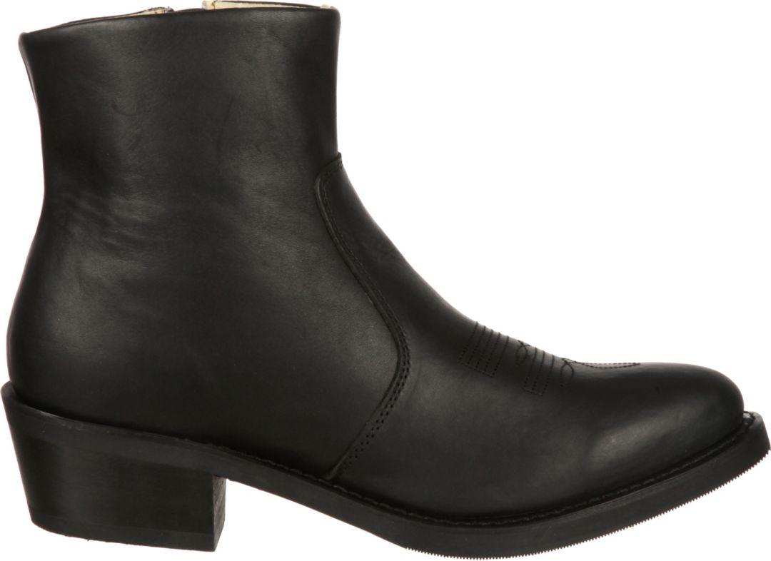 56703b776e1 Durango Women's Black Side Zip Western Boots
